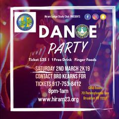 2019 Hiram Lodge Party